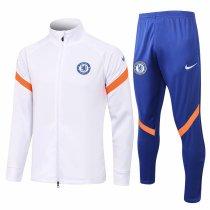 Mens Chelsea Jacket + Pants Training Suit White 2021/22