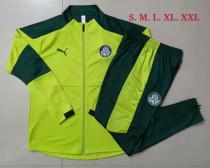 Mens Palmeiras Jacket + Pants Training Suit Green 2021/22