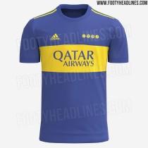 Mens Boca Juniors Home Jersey 2021/22