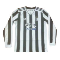 Mens Juventus Home Jersey Long Sleeve 2021/22