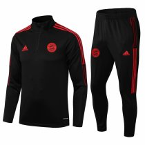 Mens Bayern Munich Training Suit Black 2021/22