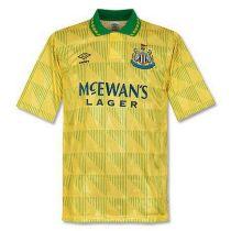 Mens Newcastle United Retro Away Jersey 1991