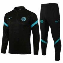 Mens Inter Milan Training Suit Black 2021/22
