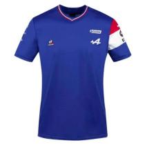 Mens Alpine F1 Team T - Shirt - Blue 2021