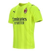 Mens AC Milan Goalkeeper Jersey Yellow 2021/22