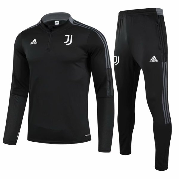 Mens Juventus Training Suit Black 2021/22