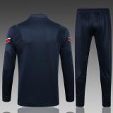 Kids PSG x Jordan Jacket + Pants Training Suit Royal 2021/22