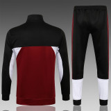 Kids PSG x Jordan Jacket + Pants Training Suit Maroon 2021/22