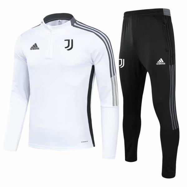 Mens Juventus Training Suit White 2021/22