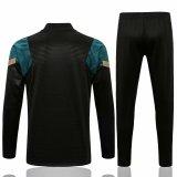 Mens Liverpool Training Suit Black GB 2021/22