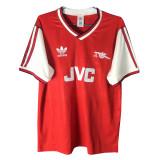 Mens Arsenal Retro Home Jersey 1986-1988