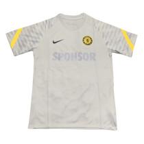 Mens Chelsea Short Training Jersey Grey 2021/22