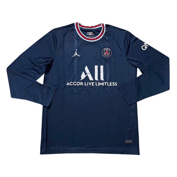 Mens PSG Home Jersey Long Sleeve 2021/22