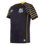 Mens Santos Goalkeeper Black Jersey 2021/22