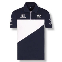 Mens Scuderia Alpha Tauri F1 Team Polo - Royal 2021