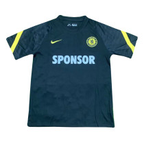 Mens Chelsea Short Training Jersey Black 2021/22