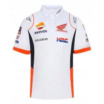Mens Repsol Honda F1 Team Polo - White 2021