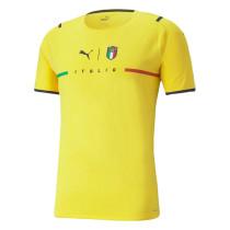 Mens Italy Goalkeeper Yellow Jersey 2021/22