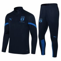 Mens Italy Training Suit Navy 2021/22