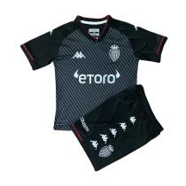 Kids AS Monaco Away Jersey 2021/22