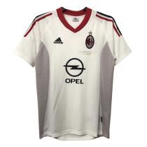 Mens AC Milan Retro Away Jersey 2002/03
