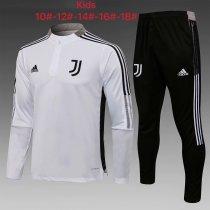 Kids Juventus Training Suit White 2021/22