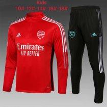 Kids Arsenal Training Suit Red 2021/22