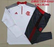 Mens Flamengo Training Suit White 2021/22
