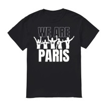 Mens PSG WE ARE PARIS T-Shirt Black 2021/22