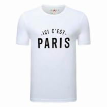 Mens PSG Messi ICI C'EST PARIS T-Shirt White 2021/22