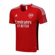 Mens Arsenal Short Training Jersey Red 2021/22