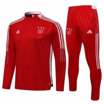 Mens Ajax Training Suit Red 2021/22