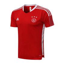Mens Ajax Short Training Jersey Red 2021/22