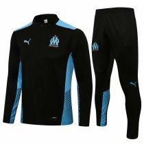Mens Olympique Training Suit Black 2021/22