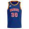 Mens Golden State Warriors Nike Blue Swingman Jersey - 75 Years Anniversary Edition