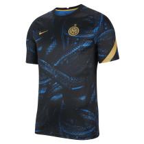 Mens Inter Milan Short Training Jersey Black 2021/22