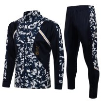 Mens Italy Jacket + Pants Training Suit Navy 2021/22
