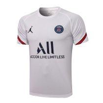 Mens PSG Short Training Jersey White 2021/22