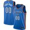 Mens Oklahoma City Thunder Nike Blue Swingman Jersey - Icon Edition