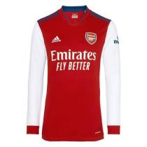 Mens Arsenal Home Jersey Long Sleeve 2021/22