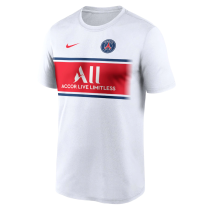 Mens PSG T-Shirt White 2021/22
