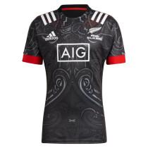 Mens Maori All Blacks Rugby Home Jersey 2021/22