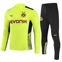 Mens Borussia Dortmund Training Suit Green 2021/22