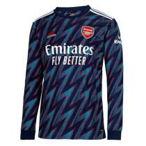 Mens Arsenal Third Jersey Long Sleeve 2021/22