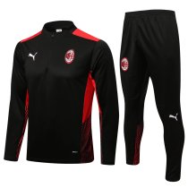 Mens AC Milan Training Suit Black 2021/22