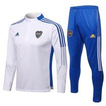 Mens Boca Juniors Training Suit White 2021/22