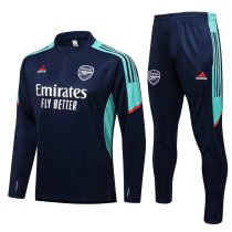 Mens Arsenal Training Suit Navy 2021/22