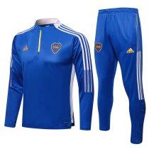 Mens Boca Juniors Training Suit Blue 2021/22
