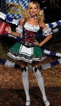 Wholesale Beer Girl Costumes HS12118