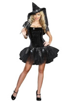 Wholesale Halloween Costume witch Costume HS13103